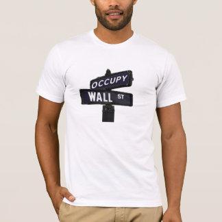 T-shirt Occupez la pièce en t de Wall Street