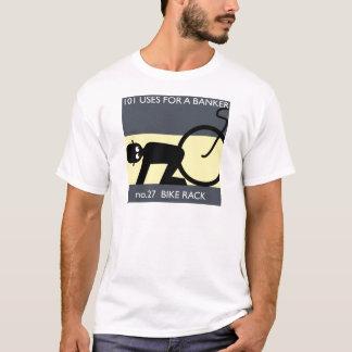 T-shirt occupez Wall Street - prenez votre vélo !