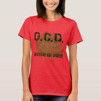 T-shirt OCD - Chat d'Obessive
