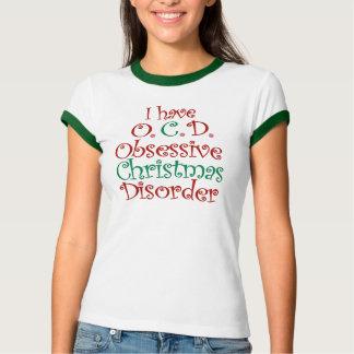 T-shirt OCD - Chemise obsédante de désordre de Noël