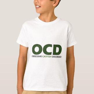 T-shirt OCD - Désordre obsédant de poisson-chat