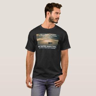 T-shirt Océan plat de calme de la terre