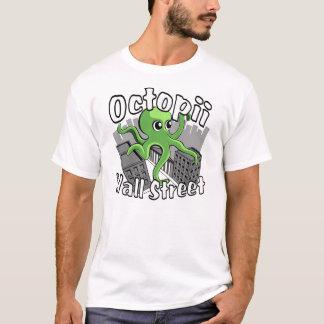 T-shirt Octopii Wall Street - occupez Wall Street !