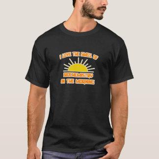 T-shirt Odeur de la biochimie pendant le matin