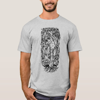 T-shirt Odin sur Yggdrasil