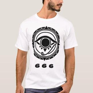 T-shirt oeil 666