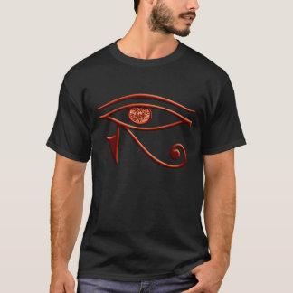 T-shirt Oeil ardent de chemise de Horus
