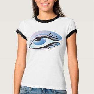 T-shirt oeil bleu