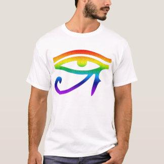 T-shirt Oeil de gay pride de Horus