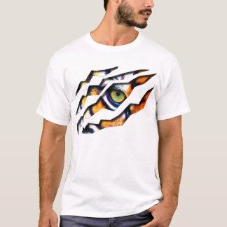 T-shirt Oeil de la larme de tigre par la pièce en t