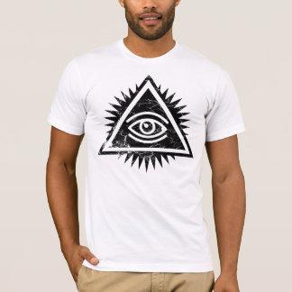 T-shirt Oeil de logo de Providence par le CTRL+Z.
