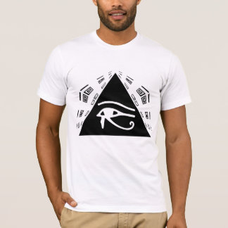 T-shirt Oeil de pièce en t de Horus