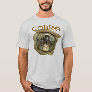 T-shirt Oeil de serpent avec la réflexion de cobra
