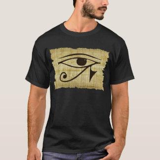 T-shirt OEIL de WADJET DE HORUS sur des cadeaux de papyrus