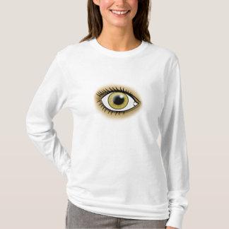 T-shirt Oeil noisette de Chakra de coeur