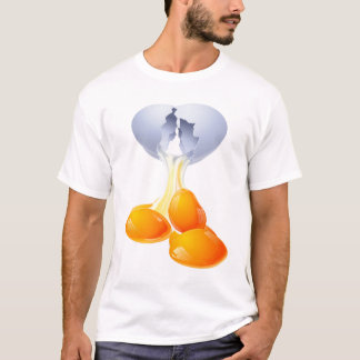 T-shirt oeuf