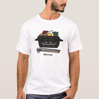 T-shirt Oeuf coréen de légumes de namul de bol de riz de