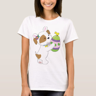 T-shirt Oeuf de pâques mignon de chiot