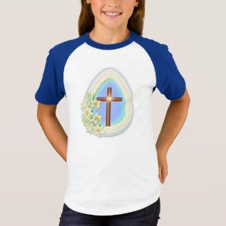 T-shirt Oeuf et croix de fenêtre