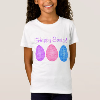 T-Shirt Oeufs de pâques de fantaisie pour des enfants