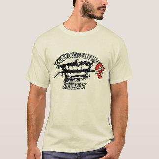 T-shirt Oeufs de poisson et filles ferroviaires