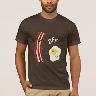 T-shirt Oeufs et lard, tee - shirt de BFF