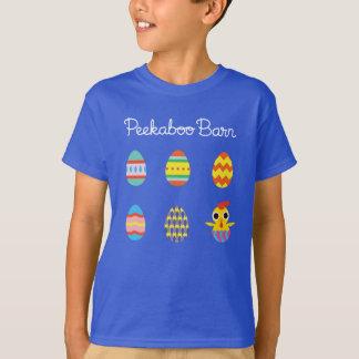 T-shirt Oeufs semi-transparents de Pâques   pâques de