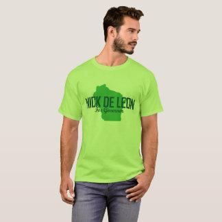 T-shirt officiel de campagne (vert de chaux)