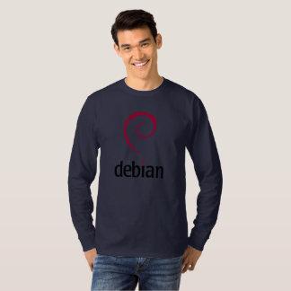 T-shirt officiel de remous de spirale de logo de