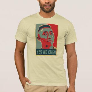 """T-shirt officiel d'Ernie Chen """"oui nous Chen"""""""