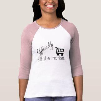 T-shirt Officiellement outre de la conception drôle de