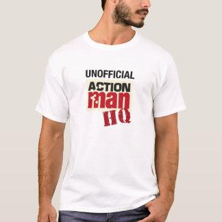 T-shirt officieux de QG d'homme d'action