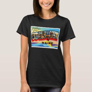 T-shirt Ogunquit Maine JE vieux souvenir vintage de voyage