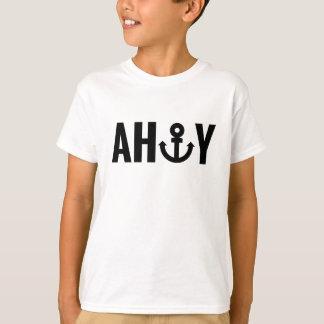 T-shirt Oh avec l'ancre
