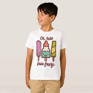 T-shirt Oh bonjour gel de cerveau