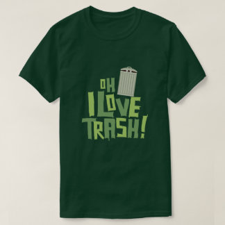 T-shirt Oh graphique de culture pop de déchets d'amour d'I