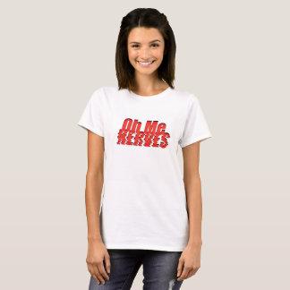 T-shirt Oh je nerfs -