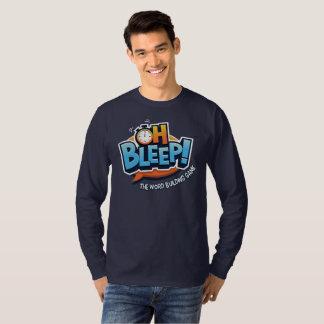 T-shirt Oh pièce en t de logo de bip -- Le LS des hommes