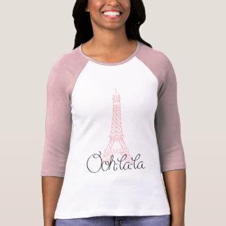 T-shirt Oh ! Tour Eiffel de La de La