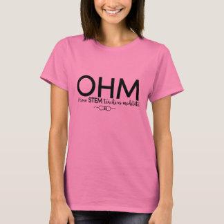 T-shirt Ohm - méditez comme un professeur de TIGE