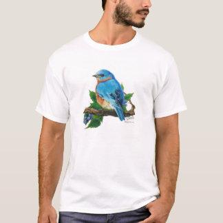 T-shirt Oiseau bleu de baie
