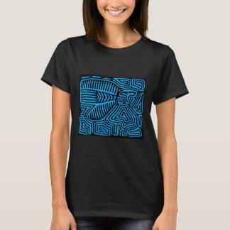 T-shirt Oiseau bleu indien de Kuna