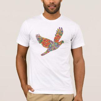 T-shirt Oiseau CHANCEUX d'ange