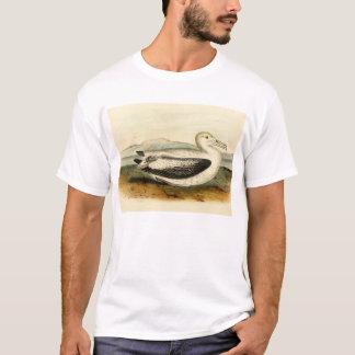 T-shirt Oiseau coupé la queue court vintage d'albatros