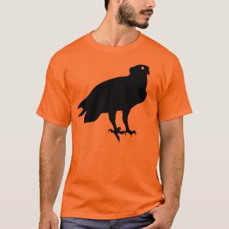 T-shirt Oiseau de balbuzard de proie noir vous donnant