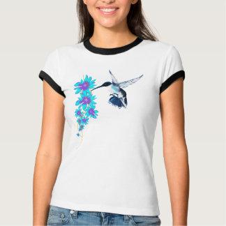 T-shirt Oiseau de ronflement dans BlueTrans