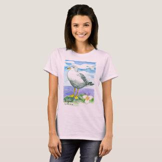 T-shirt Oiseau d'état de mouette de l'Utah