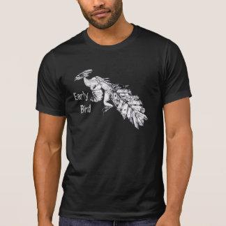 """T-shirt Oiseau préhistorique """"d'oiseau tôt"""""""