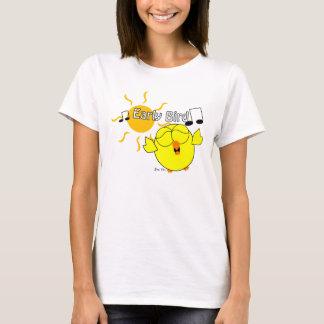 T-shirt Oiseau tôt