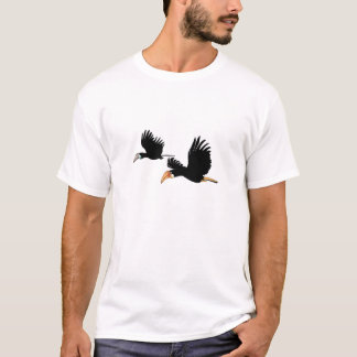T-shirt Oiseaux du calao de Blyth - ils symbole de l'amour